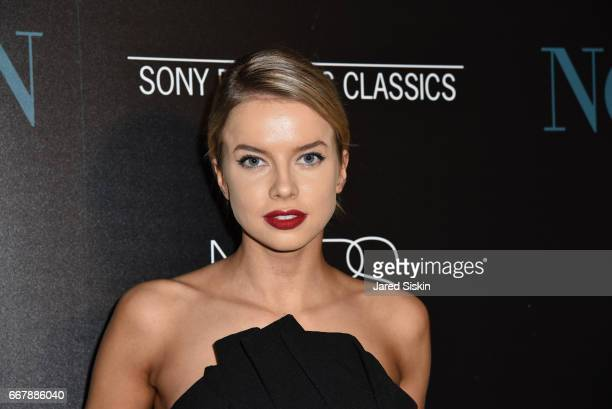 Louisa Warwick attends The Cinema Society with NARS AVION host a screening of Sony Pictures Classics' 'Norman' at the Whitby Hotel on April 12 2017...