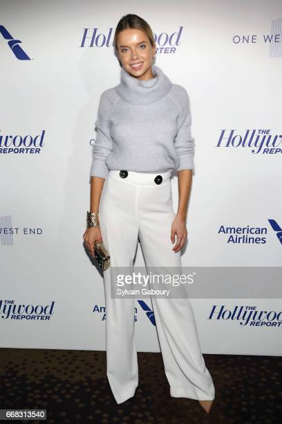 Louisa Warwick attends The Hollywood Reporter's 35 Most Powerful People In Media 2017 on April 13 2017 in New York City