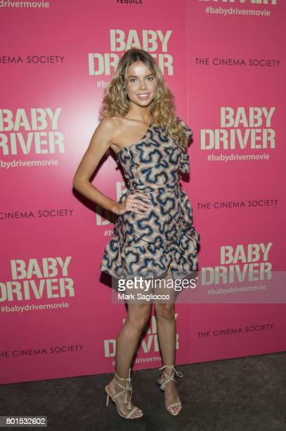 Louisa Warwick attends TriStar Pictures The Cinema Society and Avion's screening of 'Baby Driver' at The Metrograph on June 26 2017 in New York City