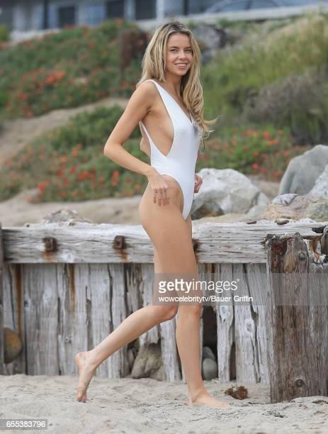 Louisa Warwick is seen on March 19 2017 in Los Angeles California