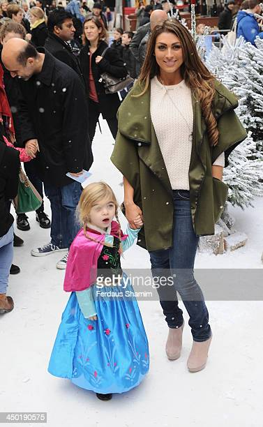 Louisa Zissman attends the celebrity screening of Disney's 'Frozen' on November 17 2013 in London United Kingdom