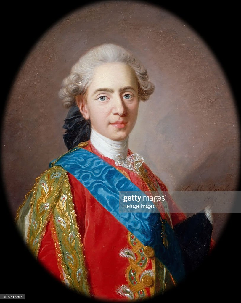 Louis-Auguste, duc de Berry (1754-1793), future Louis XVI, King of ...