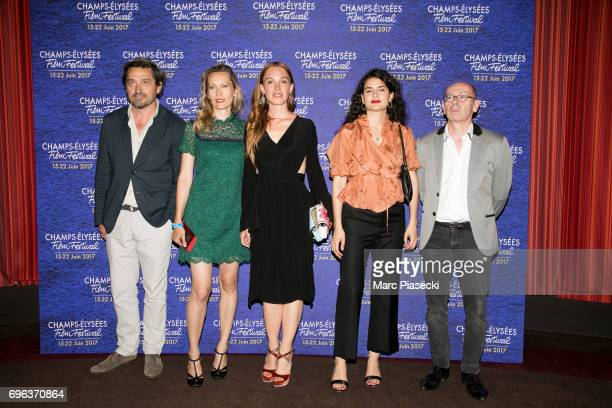 LouisDo De Lencquesaing Dounia Sichov Laetitia Dosch MarieLouise Khondji and Christophe Taudiere attend the 6th 'ChampsElysees Film Festival' at...