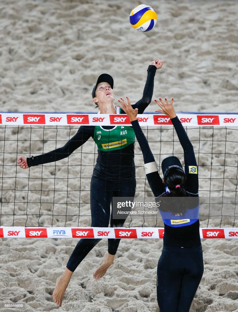 FIVB Beach Volleyball World Tour Rio - Day 2