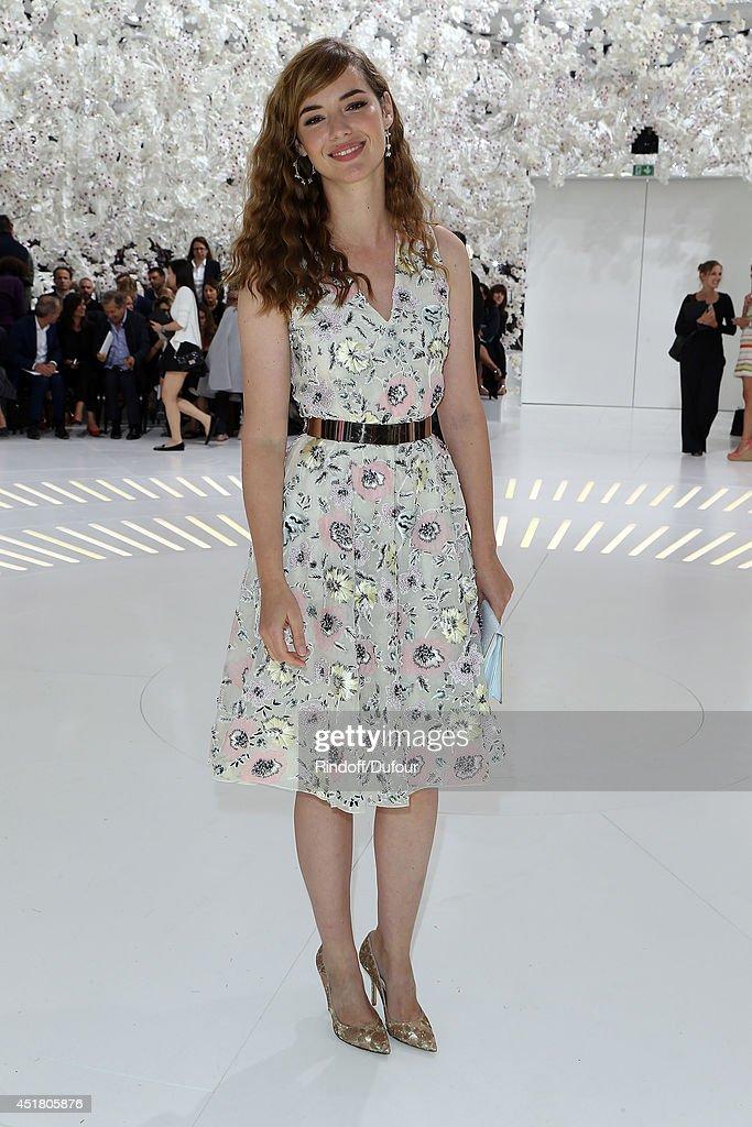 Christian Dior : Front Row - Paris Fashion Week : Haute-Couture Fall/Winter 2014-2015