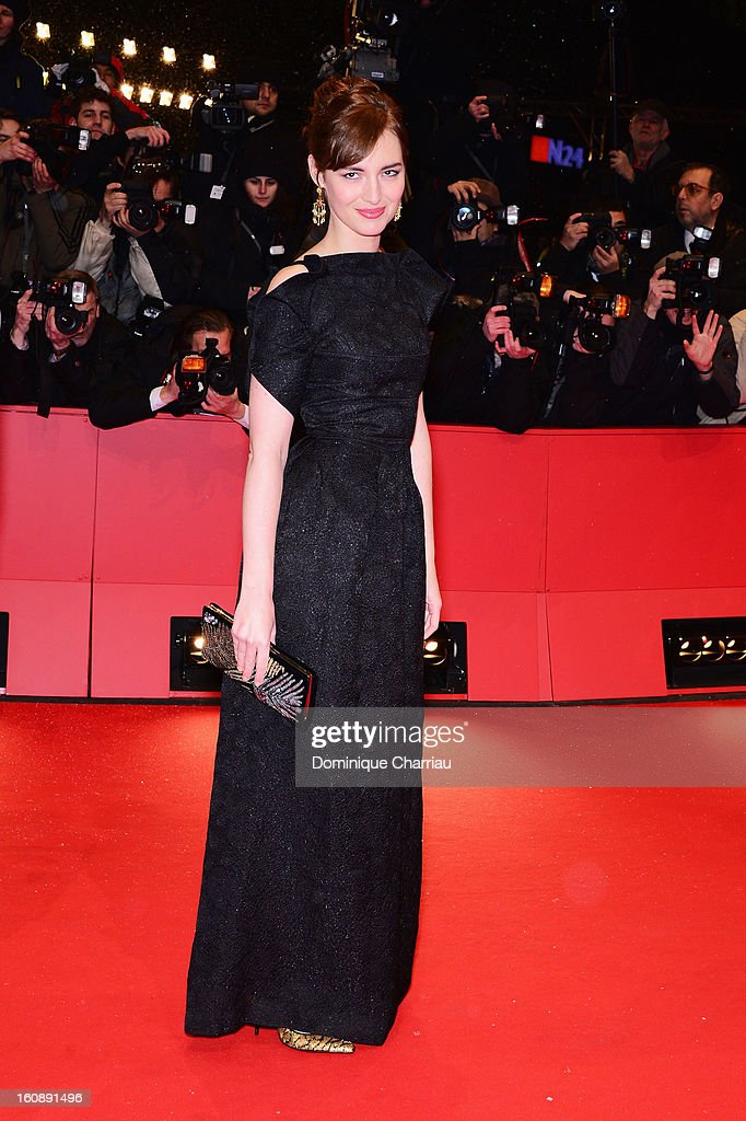 Louise Bourgoin attends 'The Grandmaster' Premiere during the 63rd Berlinale International Film Festival at Berlinale Palast on February 7, 2013 in Berlin, Germany.