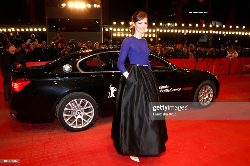 <a gi-track='captionPersonalityLinkClicked' href=/galleries/search?phrase=Louise+Bourgoin&family=editorial&specificpeople=4383765 ng-click='$event.stopPropagation()'>Louise Bourgoin</a> attends 'The Nun' Premiere - BMW at the 63rd Berlinale International Film Festival at the Berlinale-Palast on February 10, 2013 in Berlin, Germany.