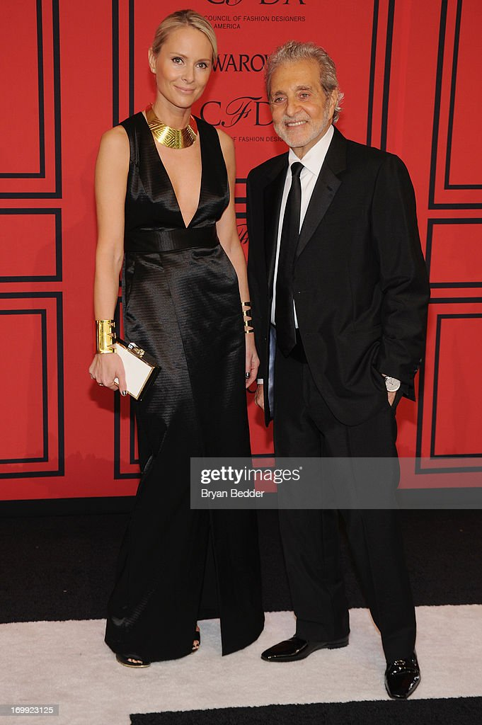 Louise Camuto (L) and designer Vince Camuto attend 2013 CFDA FASHION AWARDS Underwritten By Swarovski - Red Carpet Arrivals at Lincoln Center on June 3, 2013 in New York City.