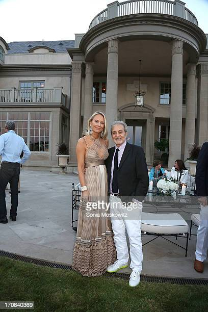Louise Camuto and Vince Camuto host 'Midsummer Night Drinks' Benefiting God's Love We Deliver at Villa Maria on June 15 2013 in Water Mill New York