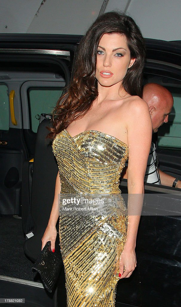 Louise Cliffe attending the Infiniti Gate Experience party on July 11, 2013 in London, England.
