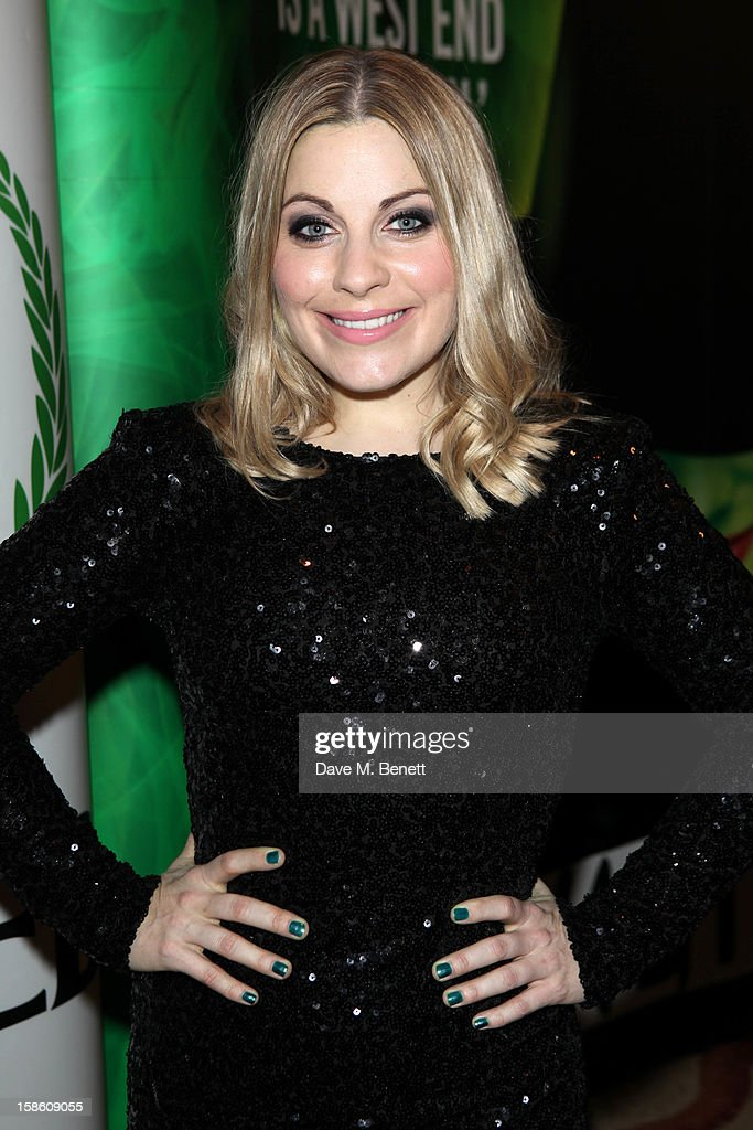 Louise Dearman attends the afterparty for the new cast members of 'Wicked' at the Victoria Plaza Hotel on December 20, 2012 in London, England.