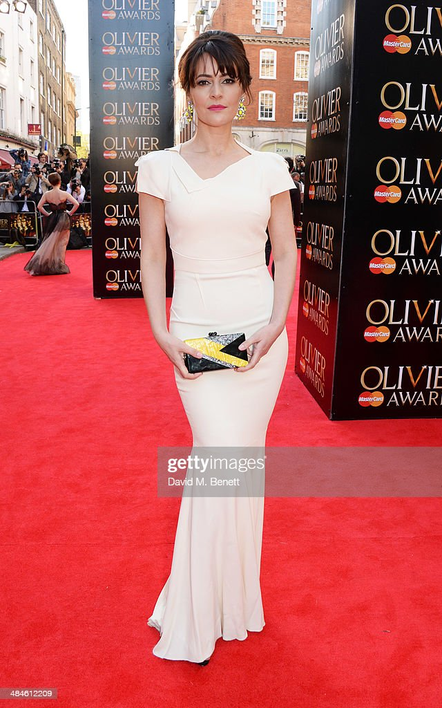 Louise Delamere attends the Laurence Olivier Awards at The Royal Opera House on April 13, 2014 in London, England.