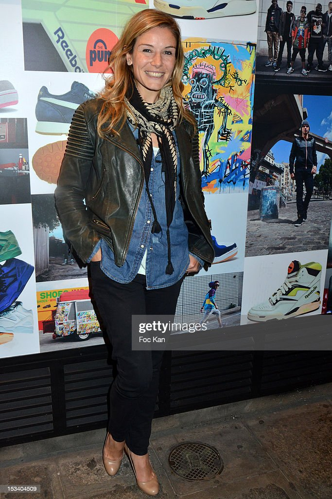 Louise Ekland attends the Reebok Ephemeral Beaubourg Flagship Store Opening Party at LÕImprimerie October 4, 2012 in Paris, France.