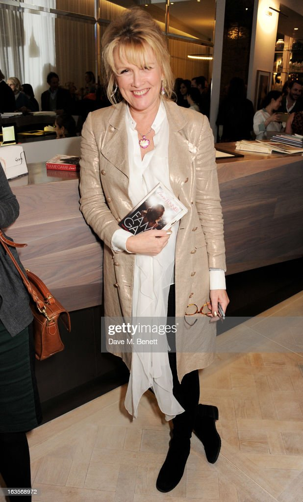 Louise Fennell attends the launch of her new book 'Fame Game' at Grace Belgravia on March 12, 2013 in London, England.