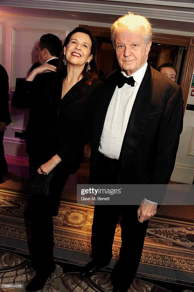 Louise Franck (L) and Eric Franck attend a gala evening celebrating Old Russian New Year's Eve in aid of the Gift Of Life Foundation at The Savoy Hotel on January 13, 2013 in London, England.