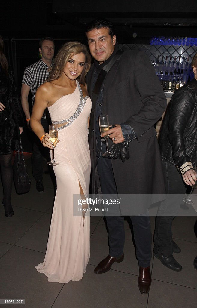 <a gi-track='captionPersonalityLinkClicked' href=/galleries/search?phrase=Louise+Glover&family=editorial&specificpeople=742604 ng-click='$event.stopPropagation()'>Louise Glover</a> and Tamer Hassan attend the World Premiere of 'Deviation' after Party at 55 New Oxford Street on February 23, 2012 in London, England.