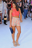 Louise Hazel attends the European Premiere of 'Magic Mike XXL' at Vue West End on June 30 2015 in London England