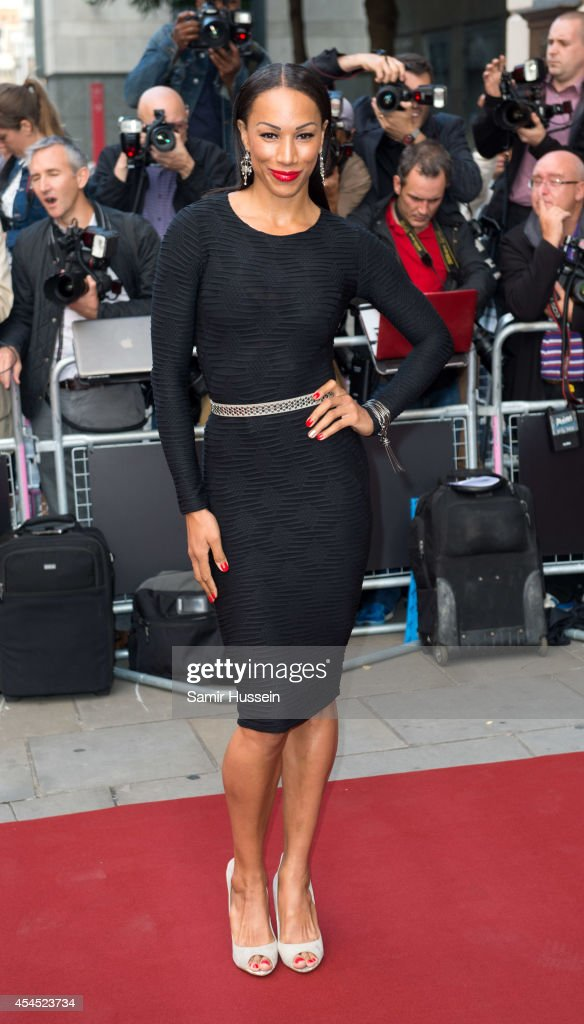 Louise Hazel attends the GQ Men of the Year awards at The Royal Opera House on September 2, 2014 in London, England.