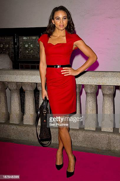 Louise Hazel attends the Inspiration Awards for Women at Cadogan Hall on October 2 2013 in London England