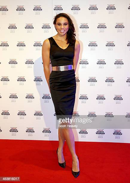 Louise Hazel attends The Sunday Times Sky Sports Sportswomen of the Year awards at Sky on December 5 2013 in Isleworth England