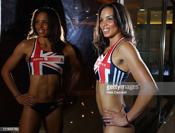 Louise Hazel of Great Britain and Northern Ireland poses for a portrait during the Aviva GBNI Team Preparation Camp on August 21 2011 in Ulsan South...