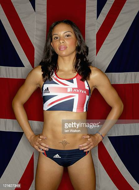 Louise Hazel of Great Britain Northern Ireland poses for a portrait during the Aviva funded GBNI Team Preparation Camp on August 21 2011 in Ulsan...
