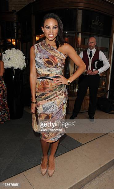 Louise Hazel sighting at the Omega Summer Party on July 16 2013 in London England