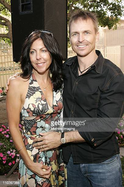 Louise Keoghan and Phil Keoghan during 3rd Annual BAFTA Tea Party Honoring Emmy Nominees at Park Hyatt Hotel in Century City California United States
