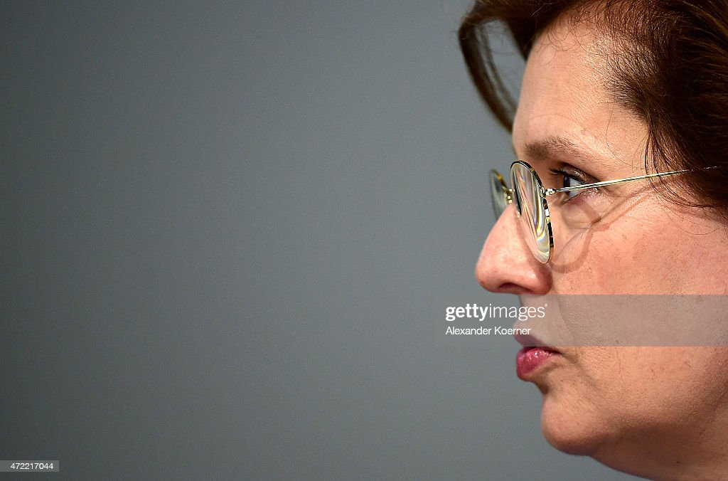Louise Kiesling, a nieces of Ferdinand Piech (not pictured), is seen prior the Volkswagen annual general shareholders' meeting on May 5, 2015 in Hanover, Germany. Winterkorn recently won out in a power struggle against VW Group Chairman Ferdinand Piech, who stepped down afterwards and, along with his wife, quit his position on the VW supervisory board. Volkswagen Group, with its 12 brands, is Germany's biggest carmaker.