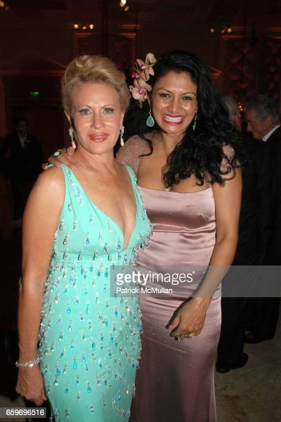 Louise Kornfeld and Donna D'Cruz attend LARRY HERBERT 80TH Birthday Celebration at The Breakers Palm Beach on March 28 2009 in Palm Beach Florida
