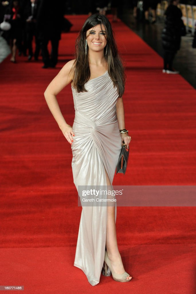 Louise Michelle attends the UK Premiere of 'Run For Your Wife' at Odeon Leicester Square on February 5 2013 in London England