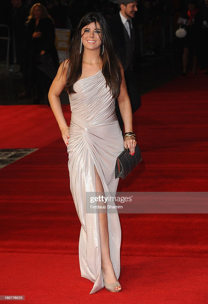 Louise Michelle attends the UK Premiere of 'Run For Your Wife' at Odeon Leicester Square on February 5, 2013 in London, England.