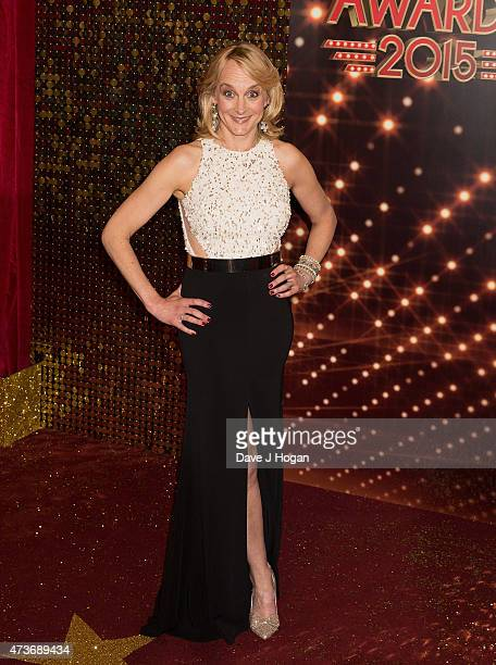 Louise Minchin attends the British Soap Awards at Manchester Palace Theatre on May 16 2015 in Manchester England