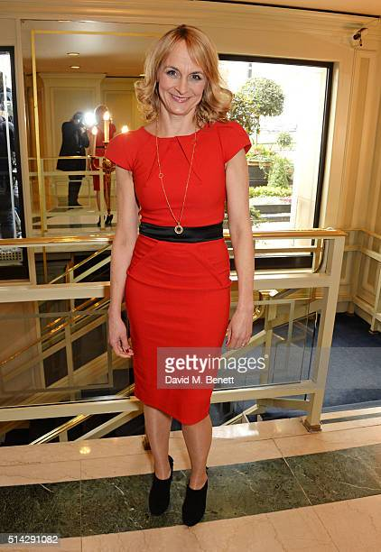 Louise Minchin attends the TRIC Awards at Grosvenor House Hotel at The Grosvenor House Hotel on March 8 2016 in London England