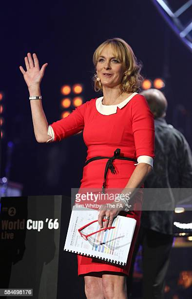 Louise Minchin performs at 'World Cup 66 Live' at SSE Arena Wembley on July 30 2016 in London England