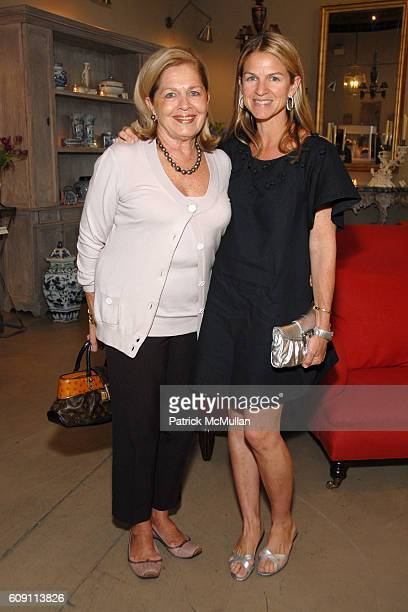 Louise Moffett and Crystal Moffet attend Cocktails at Hollyhock Honoring Mish NY and the Breast Center at UCLA at West Hollywood on May 7 2007 in...