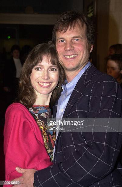Louise Newbury and Bill Paxton during Vertical Limit Premiere in Los Angeles California United States