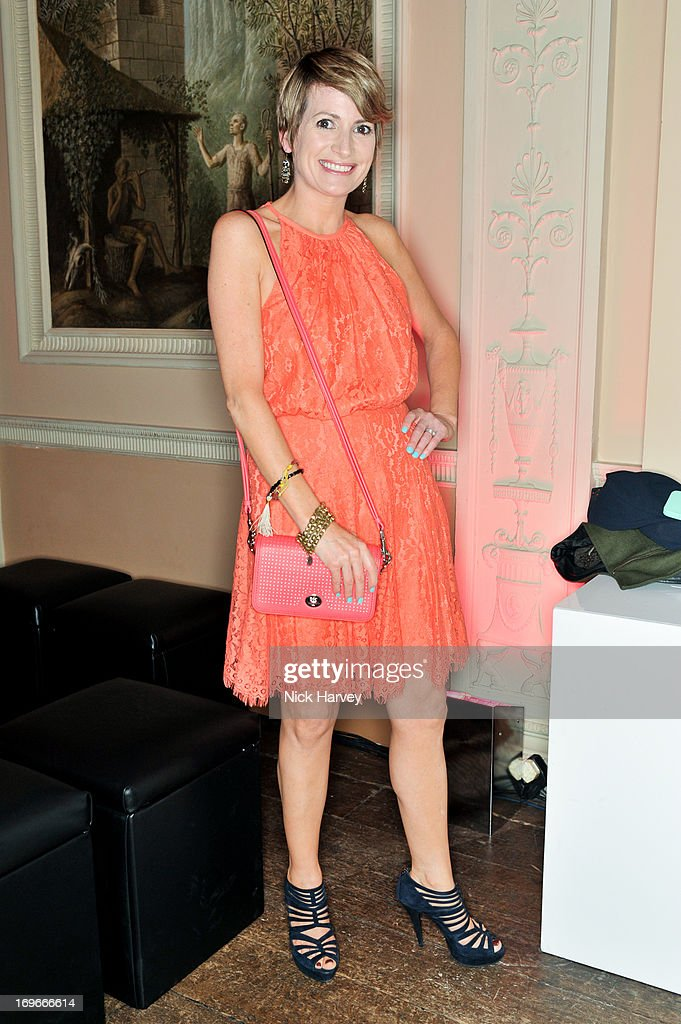 Louise Osborne attends the Juicy Couture Fall 2013 Party at Home House on May 30, 2013 in London, England.