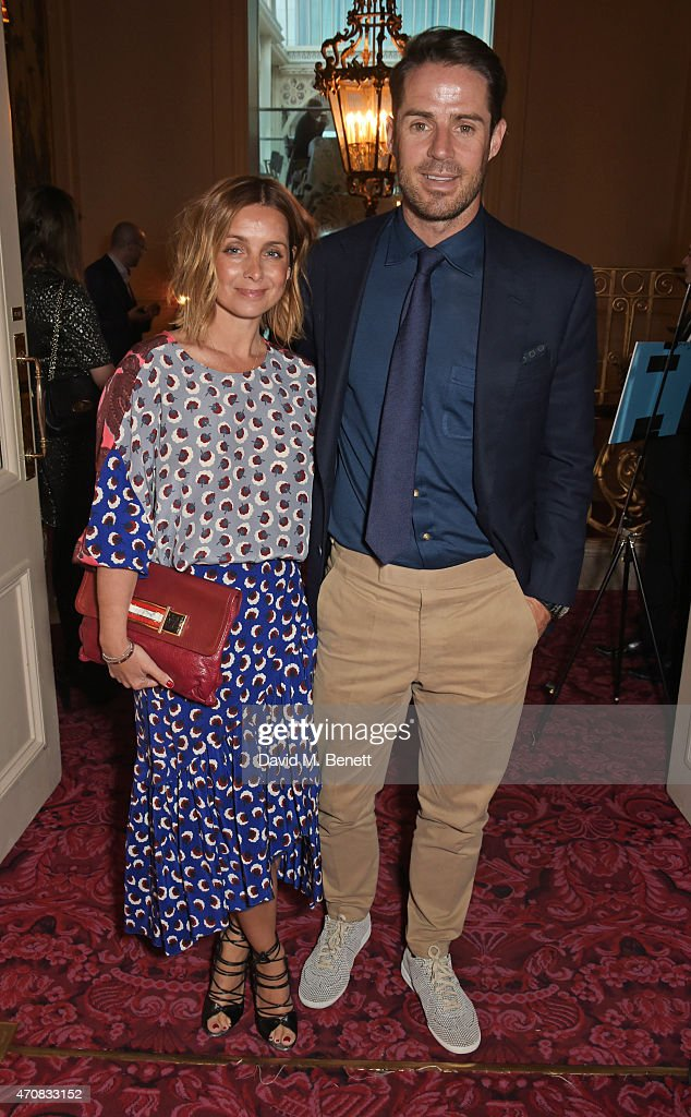Louise Redknapp and Jamie Redknapp attend as Audi hosts the opening night performance of 'La Fille Mal Gardee' at The Royal Opera House on April 23...