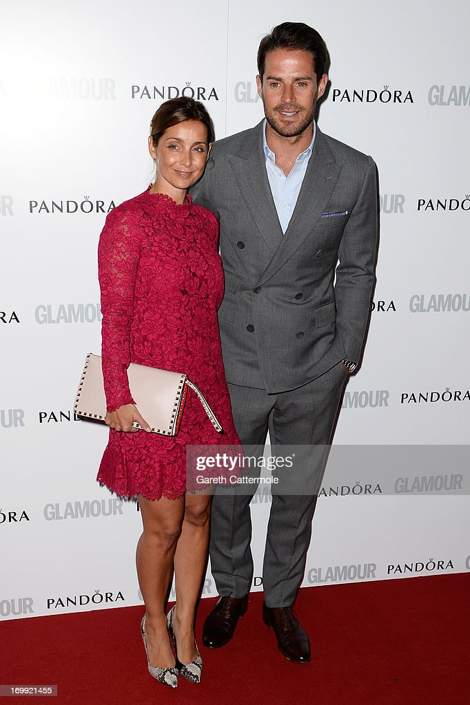 Louise Redknapp and Jamie Redknapp attend Glamour Women of the Year Awards 2013 at Berkeley Square Gardens on June 4 2013 in London England