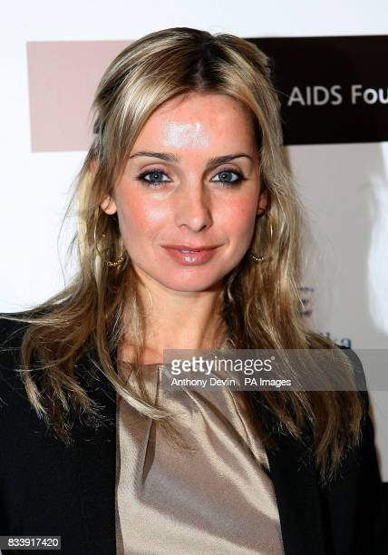 Louise Redknapp arrives at the Grey Goose Vodka and The Elton John AIDS Foundation VIP launch party One Piazza Covent Garden London