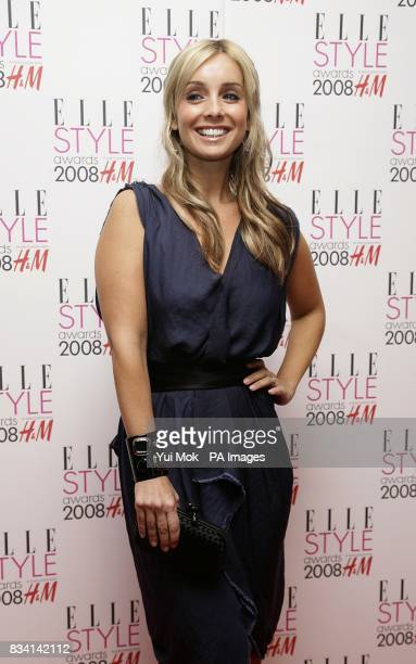 Louise Redknapp arrives for the ELLE Style Awards 2008 The Westway off Latimer Road W10