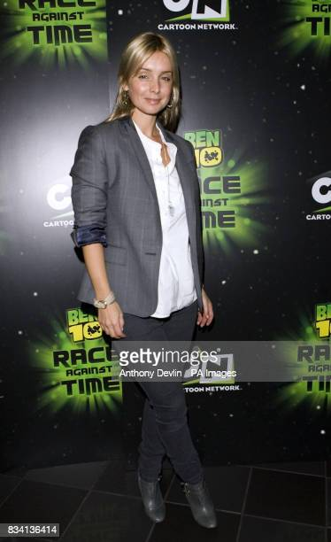 Louise Redknapp arrives for the premiere of 'Ben 10 Race Against Time' at the Vue in Leicester Square London