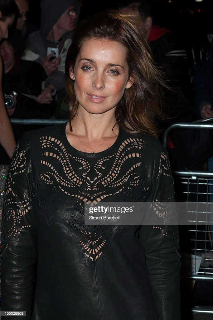 Louise Redknapp attends the Cosmopolitan Ultimate Woman of the Year awards at Victoria & Albert Museum on October 30, 2012 in London, England.