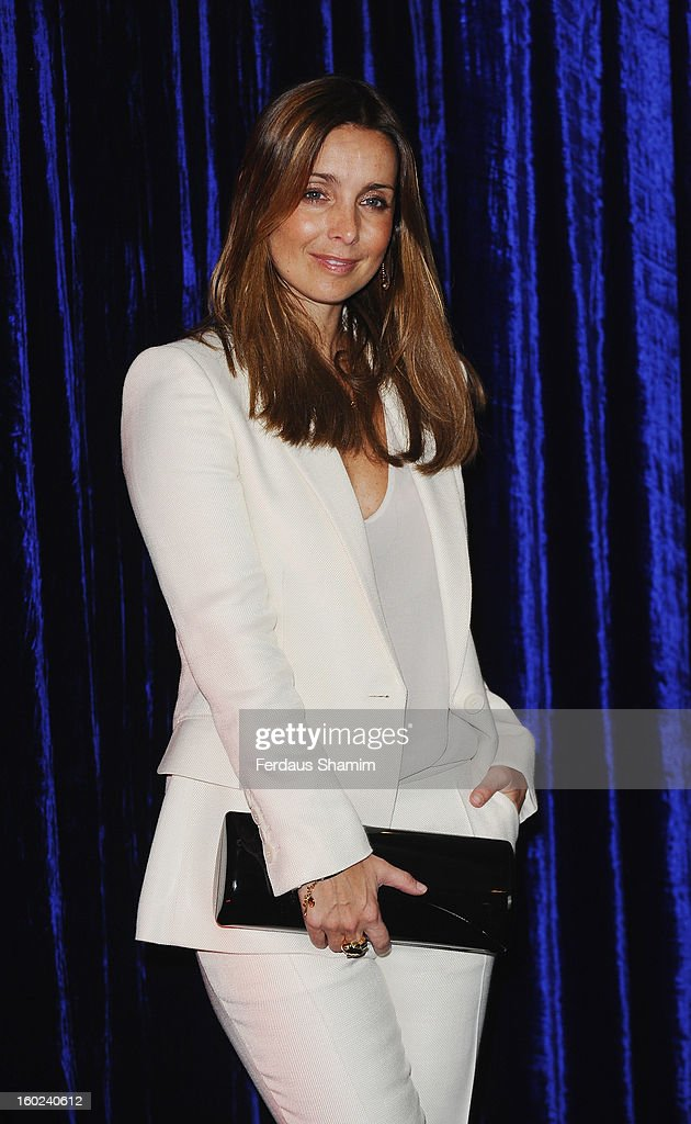 Louise Redknapp attends the Retail Trust London Ball at Grosvenor House, on January 28, 2013 in London, England.