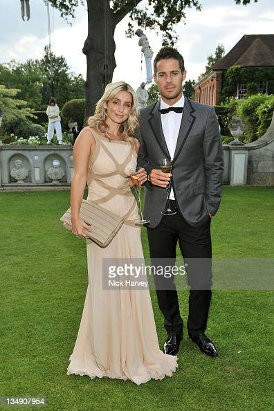 Louise Redknapp wearing Chopard jewellery and Jamie Redknapp attend The 12th Annual White Tie and Tiara Ball to Benefit Elton John AIDS Foundation in...