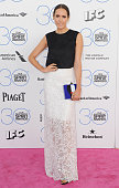 Louise Roe arrives at the 2015 Film Independent Spirit Awards on February 21 2015 in Santa Monica California