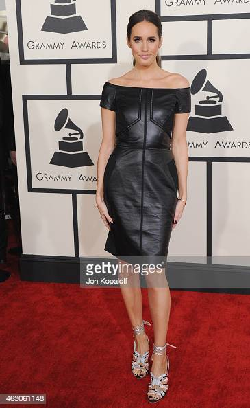 Louise Roe arrives at the 57th GRAMMY Awards at Staples Center on February 8 2015 in Los Angeles California