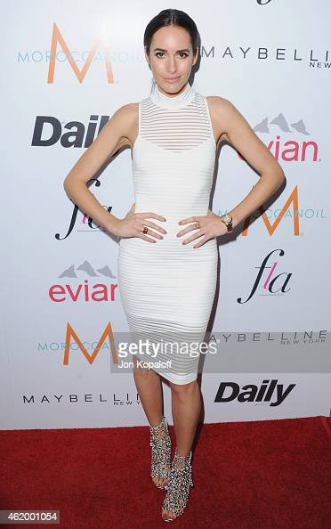 Louise Roe arrives at The Daily Front Row's 1st Annual Fashion Los Angeles Awards at Sunset Tower Hotel on January 22 2015 in West Hollywood...