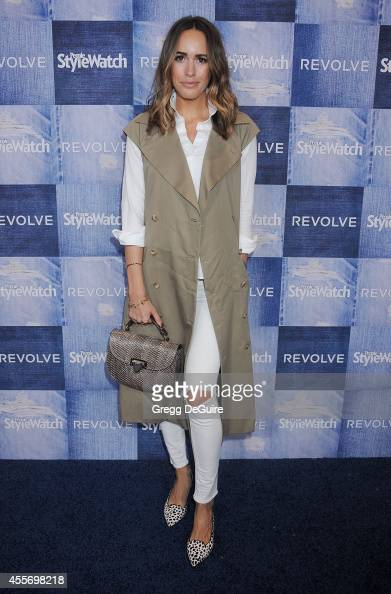 Louise Roe arrives at the People StyleWatch 4th Annual Denim Awards Issue at The Line on September 18 2014 in Los Angeles California